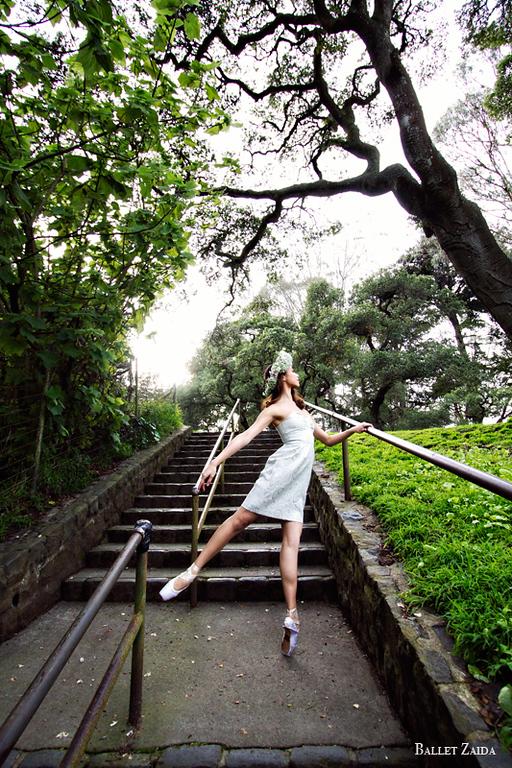Dancer - Katerina Louise.<br /> <br /> Location - Golden Gate Park. San Francisco, California.<br /> <br /> © 2012 Oliver Endahl