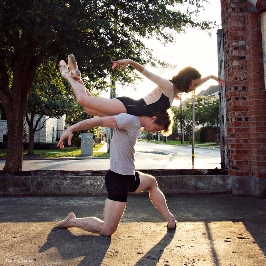 Dancers - Elise Judson & Rhodes Elliott.<br /> <br /> Location - Houston, Texas.<br /> <br /> © 2012 Oliver Endahl
