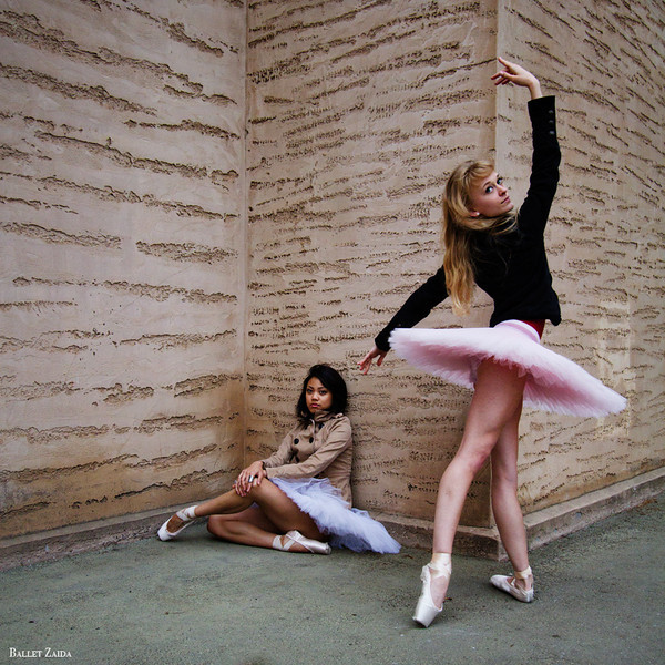 Dancers - Jeraldine Mendoza & Alanna Endahl.<br /> <br /> Location - The Palace of Fine Arts. San Francisco, California.<br /> <br /> © 2011 Oliver Endahl