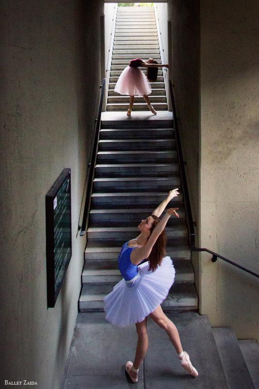 Dancers - Angelica & Abigail Tilton.<br /> <br /> Location -  Embarcadero. San Francisco, California.<br /> <br /> © 2012 Oliver Endahl