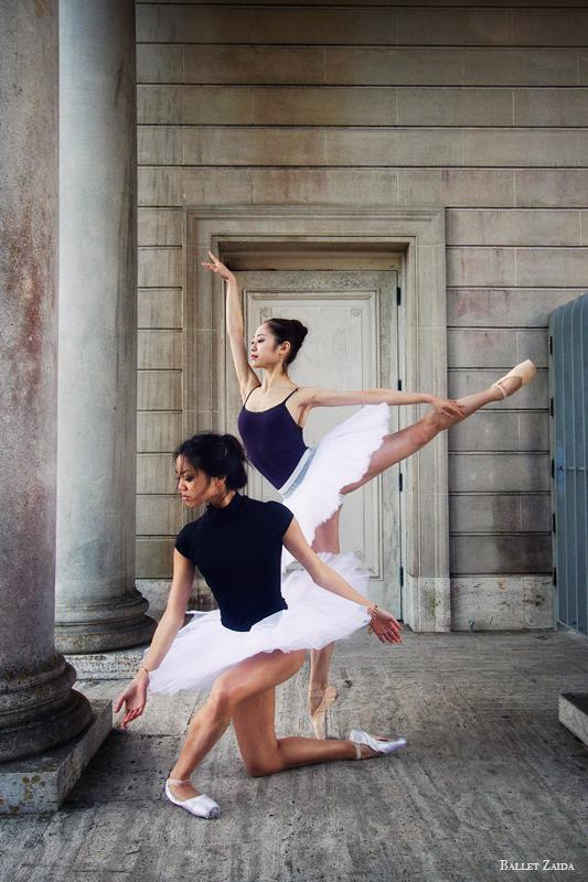 Dancers - Jeraldine Mendoza & Koto Ishihara.<br /> <br /> Location - The Legion of Honor. San Francisco, California.<br /> <br /> © 2012 Oliver Endahl