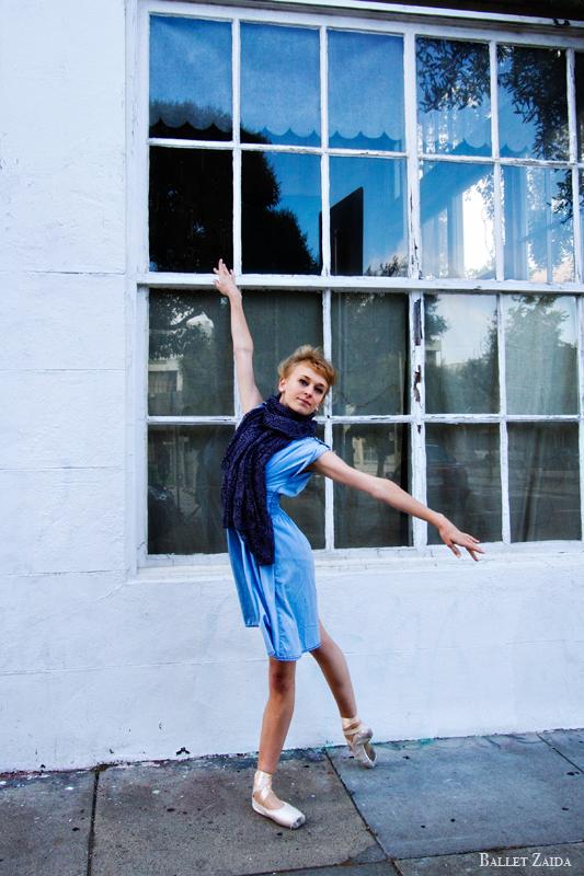 Dancer - Alanna Endahl.<br /> <br /> Location - San Francisco, California.<br /> <br /> © 2011 Oliver Endahl