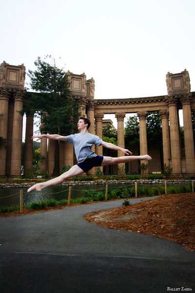 Dancer - David Donnelly.<br /> <br /> Location - The Palace of Fine Arts. San Francisco, California.<br /> <br /> © 2011 Oliver Endahl