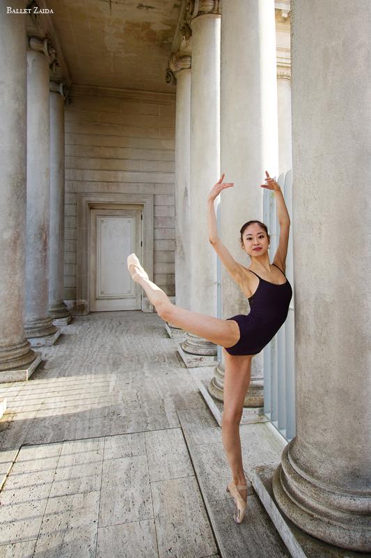 Dancer - Koto Ishihara.<br /> <br /> Location - The Legion of Honor. San Francisco, California.<br /> <br /> © 2012 Oliver Endahl