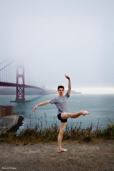 Dancer - David Donnelly.<br /> <br /> Location - San Francisco, California.<br /> <br /> © 2011 Oliver Endahl