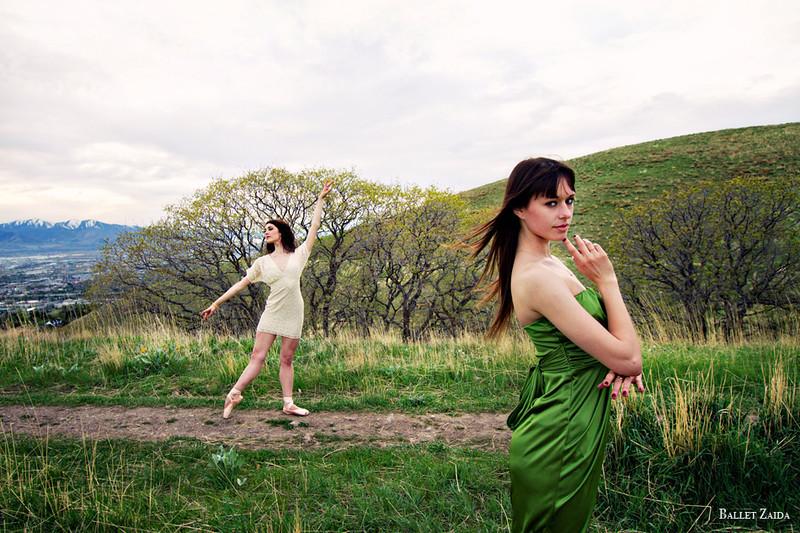 Dancers - Beckanne Sisk & Kathleen Martin.<br /> <br /> Location - Salt Lake City, Utah.<br /> <br /> © 2012 Oliver Endahl
