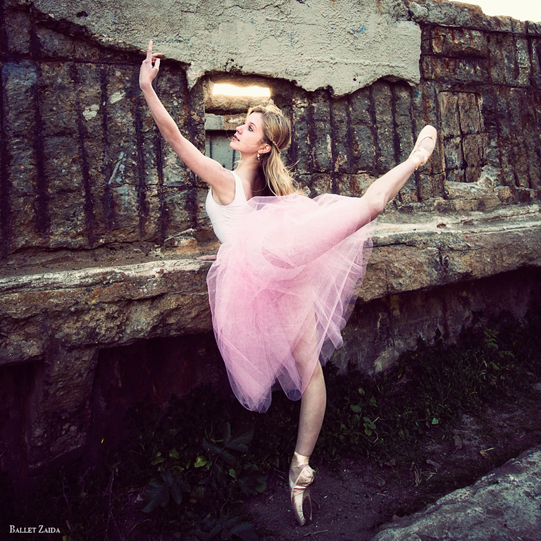 Dancer - Caroline Echerd.<br /> <br /> Location - Sutro Bath Ruins. San Francisco, California.<br /> <br /> © 2012 Oliver Endahl
