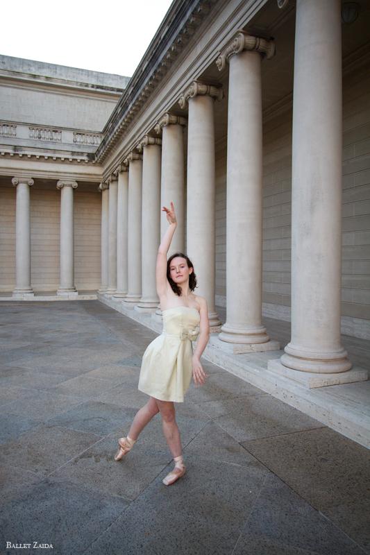 Dancer - Caroline Hearst.<br /> <br /> Location - The Legion of Honor. San Francisco, California.<br /> <br /> © 2012 Oliver Endahl