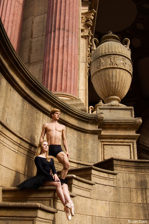Dancers - Rebecca Rhodes & Luke Willis.<br /> <br /> Location - The Palace of Fine Arts. San Francisco, California.<br /> <br /> © 2011 Oliver Endahl
