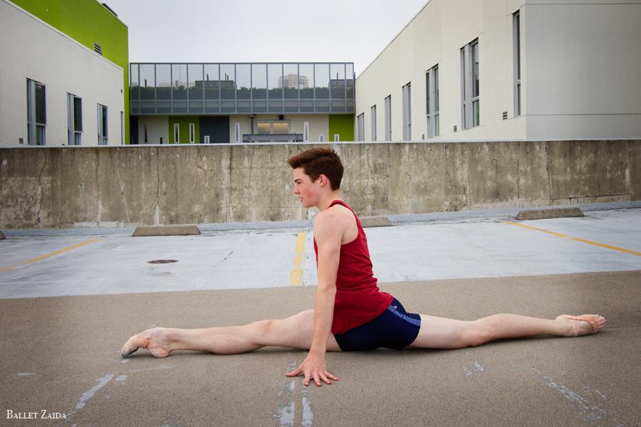 Dancer - David Donnelly.<br /> <br /> Location - Hayes Valley. San Francisco, California.<br /> <br /> © 2011 Oliver Endahl