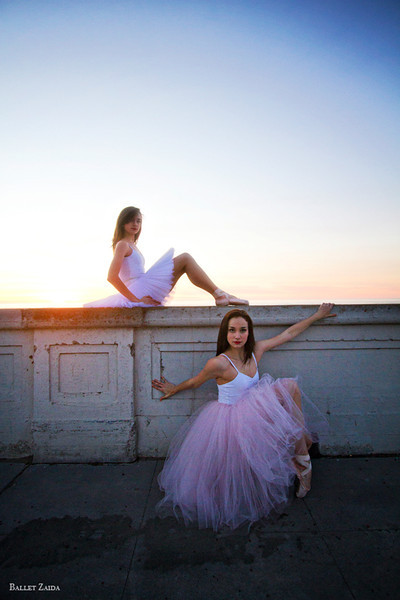 Dancers - Angelica & Abigail Tilton.<br /> <br /> Location - Ocean Beach. San Francisco, California.<br /> <br /> © 2012 Oliver Endahl