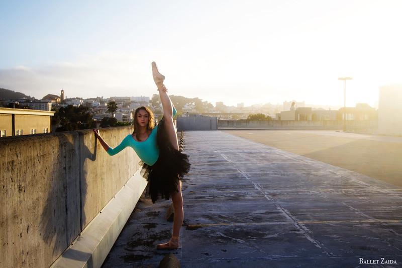 Dancer - Jeanette Kakareka.<br /> <br /> Location - Hayes Valley. San Francisco, California.<br /> <br /> © 2011 Oliver Endahl
