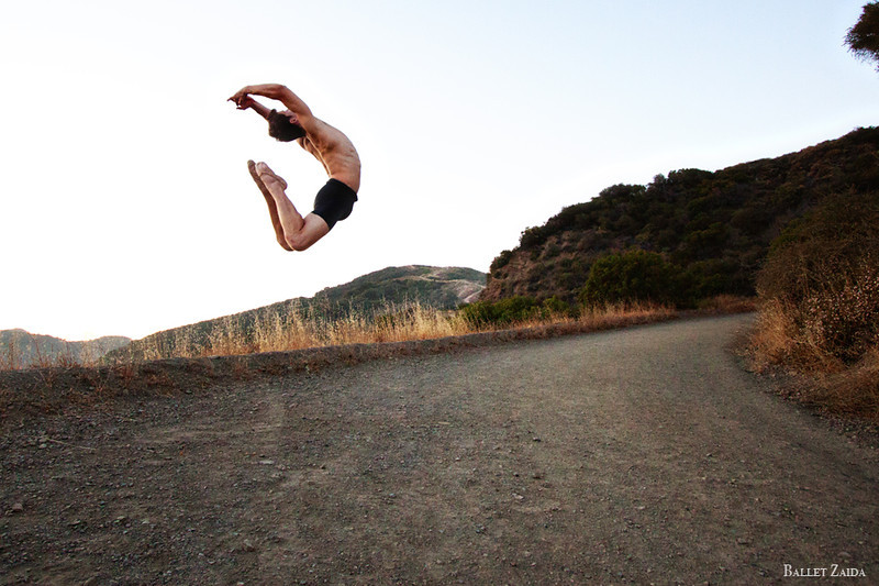 Dancer - Brandon Binkly. <br /> <br /> Location - Los Angeles, California.<br /> <br /> © 2012 Oliver Endahl