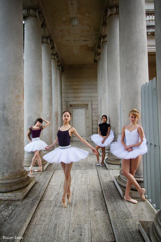Dancers - Emma Rubinowitz, Koto Ishihara, Jeraldine Mendoza, & Alanna Endahl.<br /> <br /> Location - The Legion of Honor. San Francisco, California.<br /> <br /> © 2012 Oliver Endahl