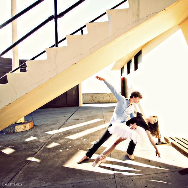 Dancers - Alexander Reneff-Olson & Elise Gillum.<br /> <br /> Location - China Beach. San Francisco, California.<br /> <br /> © 2012 Oliver Endahl