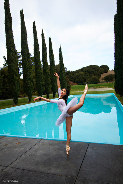 Dancer - Candy Tong.<br /> <br /> Location - Pulgas Water Temple. Redwood City, California.<br /> <br /> © 2012 Oliver Endahl