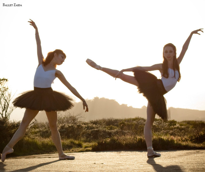 Dancers - Bryn Gilbert & Jordan Hammond.<br /> <br /> Location - Marin Headlands. Sausalito, California.<br /> <br /> © 2011 Oliver Endahl