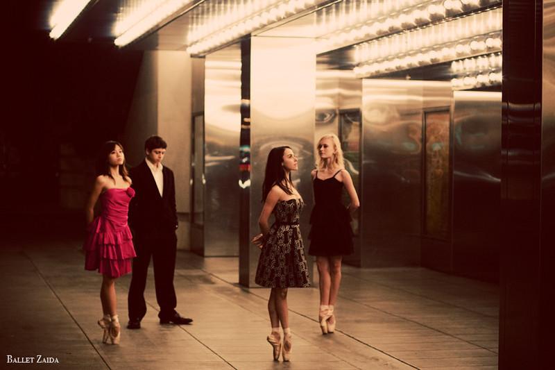 Dancers - Eri Nikai, Aaron Renteria, Jessica Cohen, Alanna Endahl.<br /> <br /> Location - Civic Center. San Francisco, California.<br /> <br /> © 2011 Oliver Endahl