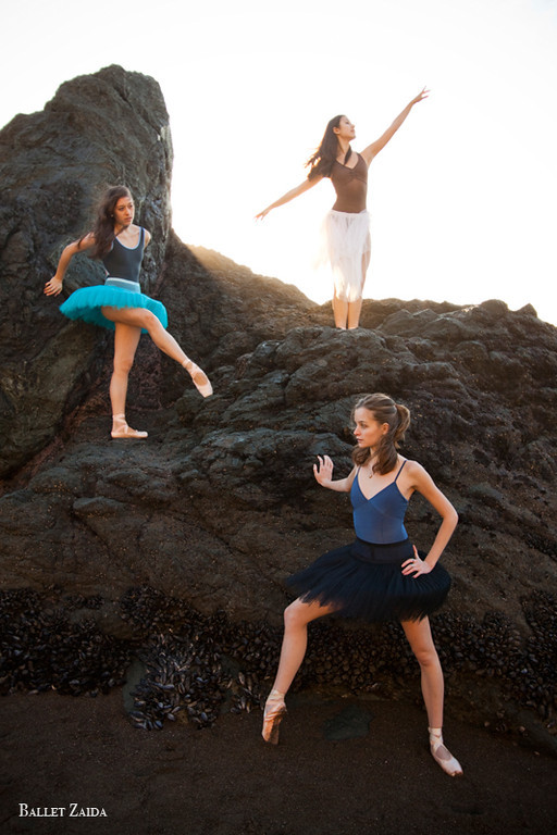 Dancers - Nicole Voris, Audrey Solomon, Samantha Nagy-Chow.<br /> <br /> Location - Sausalito, California.<br /> <br /> © 2011 Oliver Endahl