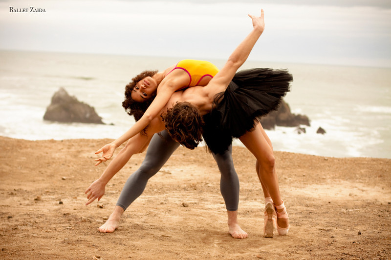 Dancers - Kimberly Braylock & Robert Goodman.<br /> <br /> Location - Lands End. San Francisco, California.<br /> <br /> © 2011 Oliver Endahl