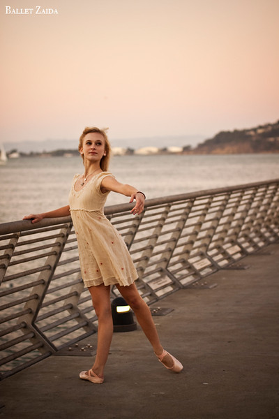 Dancer - Alanna Endahl.<br /> <br /> Location - Pier 1. San Francisco, California.<br /> <br /> © 2011 Oliver Endahl