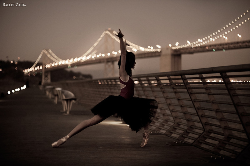 Dancer - Nicole Voris.<br /> <br /> Location - Pier 1. San Francisco, California.<br /> <br /> © 2011 Oliver Endahl
