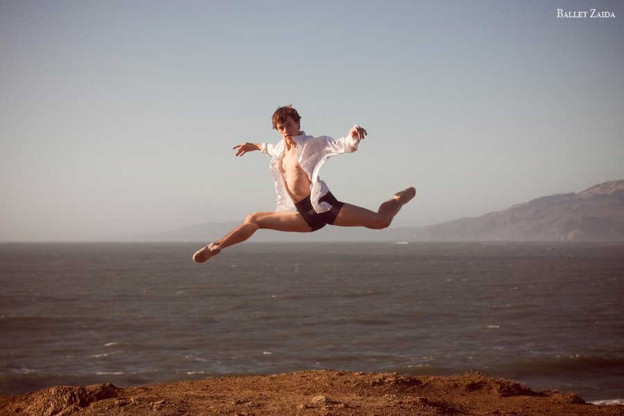 Dancer - Dylan Ward.<br /> <br /> Location - Lands End. San Francisco, California.<br /> <br /> © 2011 Oliver Endahl