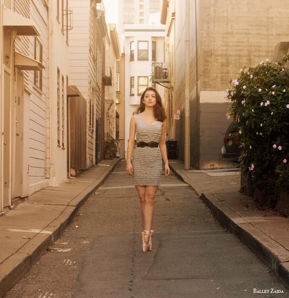 Dancer - Madison Keesler.<br /> <br /> Location - San Francisco, California.<br /> <br /> © 2011 Oliver Endahl
