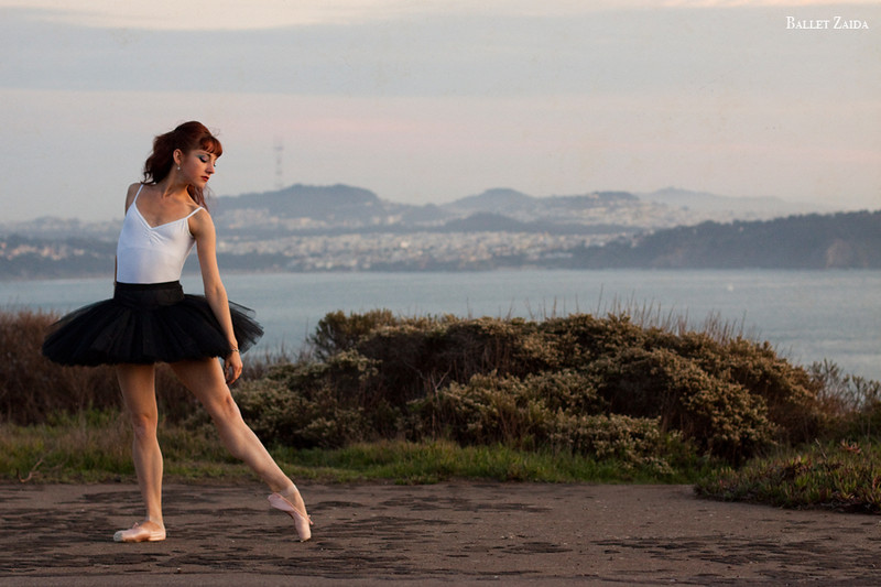 Dancer - Bryn Gilbert.<br /> <br /> Location - Marin Headlands. Sausalito, California.<br /> <br /> © 2011 Oliver Endahl