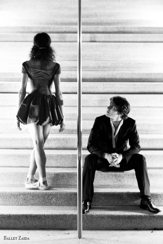 Dancers - Kimberly Braylock & Robert Goodman.<br /> <br /> Location - Civic Center. San Francisco, California.<br /> <br /> © 2011 Oliver Endahl
