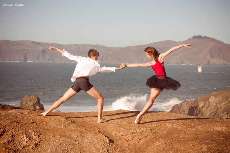 Dancers - Dylan Ward & Nicole Voris.<br /> <br /> Location - Lands End. San Francisco, California.<br /> <br /> © 2011 Oliver Endahl