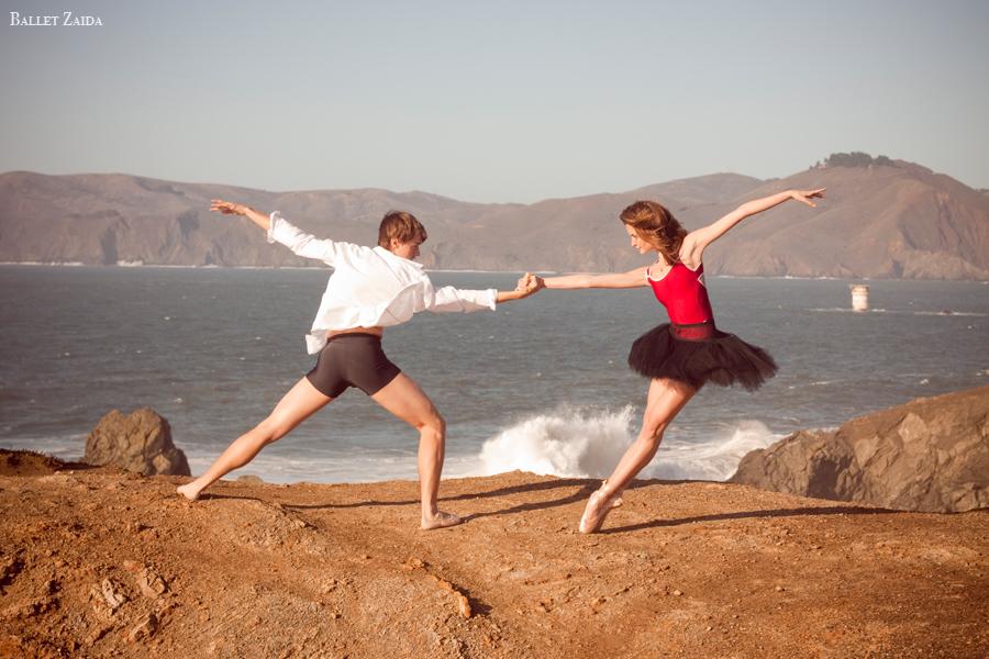 Dancers - Dylan Ward & Nicole Voris.<br /> <br /> Location - Lands End. San Francisco, California.<br /> <br /> © 2011 Oliver Endahl