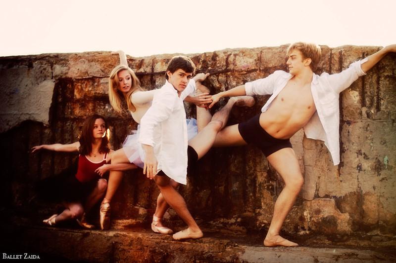 Dancers - Nicole Voris, Kristina Lind, Dylan Ward, Myles Thatcher. <br /> <br /> Location - Sutro Bath Ruins. San Francisco, California.<br /> <br /> © 2011 Oliver Endahl