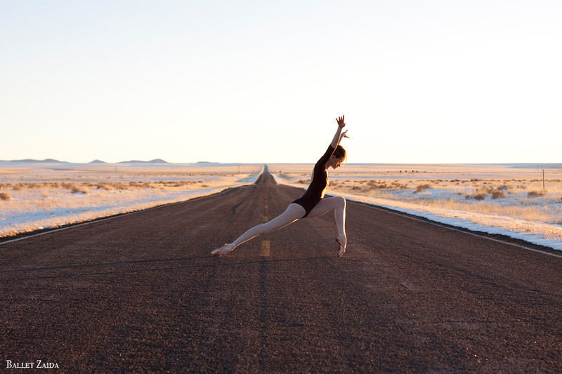 Dancer - Nicole Voris.<br /> <br /> Location - New Mexico.<br /> <br /> © 2011 Oliver Endahl