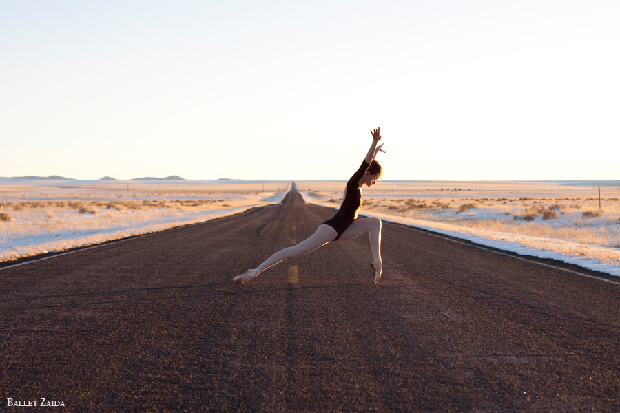 Dancer - Nicole Voris.<br /> <br /> Location - New Mexico.<br /> <br /> © 2011 Oliver Endahl