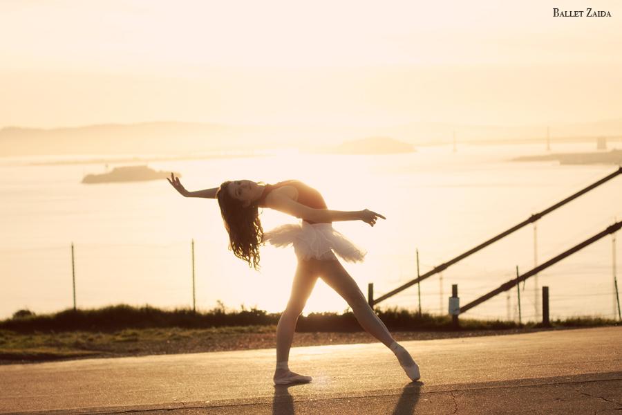 Dancer - Lauren Hawkins.<br /> <br /> Location - Marin Headlands. Sausalito, California.<br /> <br /> © 2011 Oliver Endahl