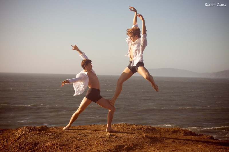 Dancers - Dylan Ward & Myles Thatcher. <br /> <br /> Location - Lands End. San Francisco, California.<br /> <br /> © 2011 Oliver Endahl
