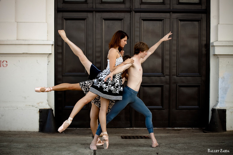 Dancers - Evan Hewer, Eva Burton, Rebekah Hostetter, Harrison James Wynn.<br /> <br /> Location - San Francisco, California.<br /> <br /> © 2011 Oliver Endahl