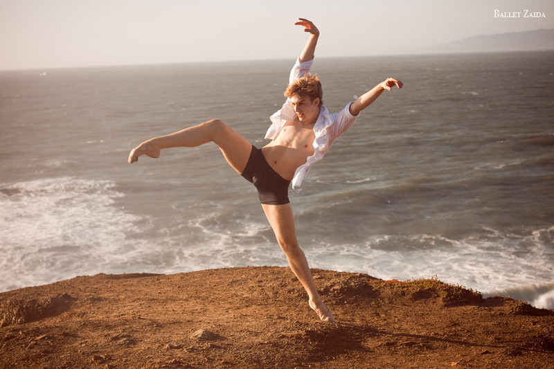 Dancer - Myles Thatcher.<br /> <br /> Location - Lands End. San Francisco, California.<br /> <br /> © 2011 Oliver Endahl