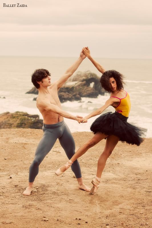 Dancers - Robert Goodman & Kimberly Braylock.<br /> <br /> Location - Lands End. San Francisco, California.<br /> <br /> © 2011 Oliver Endahl
