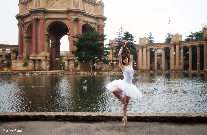 Dancer - Caitlin McAvoy.<br /> <br /> Location - The Palace of Fine Arts. San Francisco, California.<br /> <br /> © 2011 Oliver Endahl