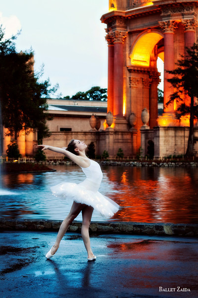 Dancer - Kathleen Dahlhoff.<br /> <br /> Location - The Palace of Fine Arts. San Francisco, California.<br /> <br /> © 2011 Oliver Endahl