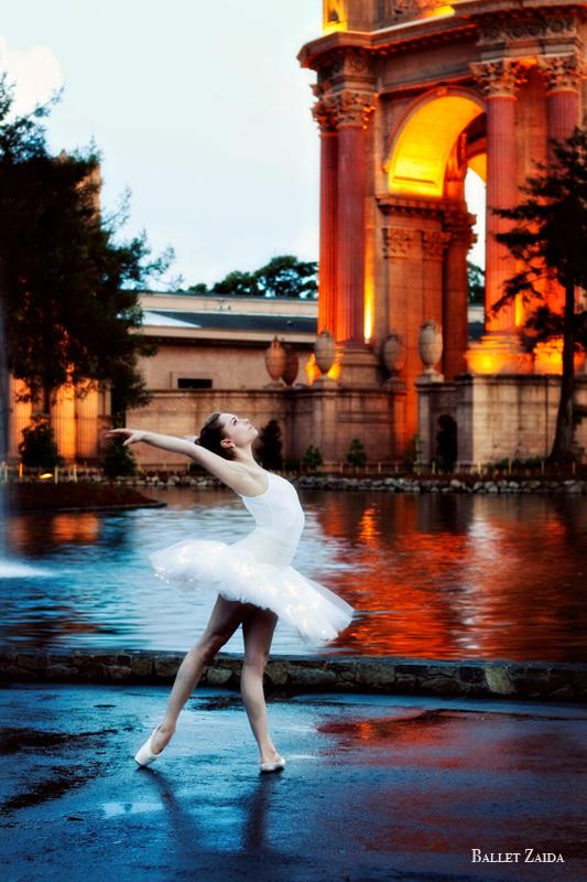 Dancer - Kathleen Dahlhoff.<br /> <br /> Location - The Palace of Fine Arts. San Francisco, California.<br /> <br /> © 2011 Oliver Endahl