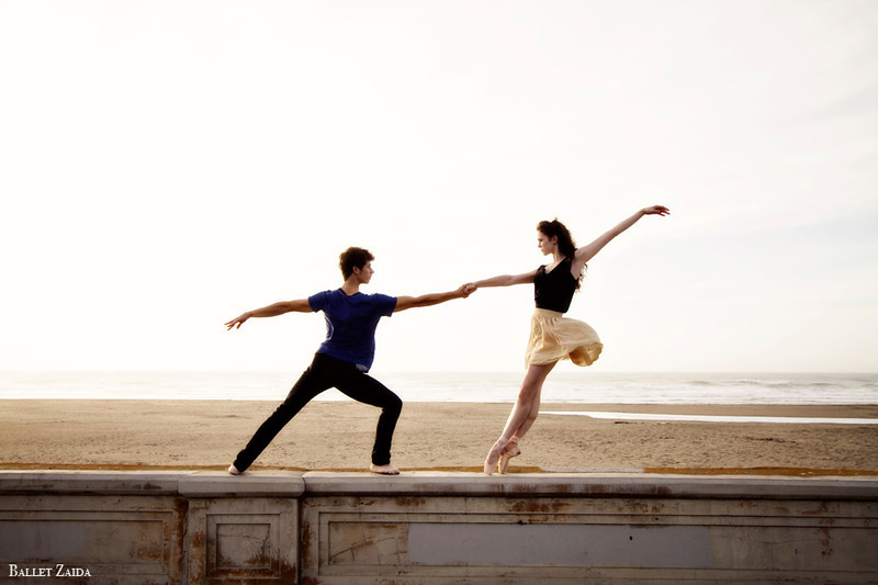 Dancers - Brandon Binkly & Caitlin McAvoy.<br /> <br /> Location - Ocean Beach. San Francisco, California.<br /> <br /> © 2011 Oliver Endahl