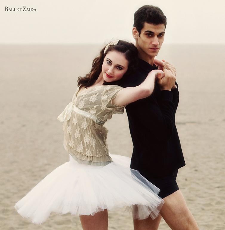 Dancers - Ellen Rose Hummel & Devon Carbone.<br /> <br /> Location - Ocean Beach. San Francisco, California.<br /> <br /> © 2011 Oliver Endahl