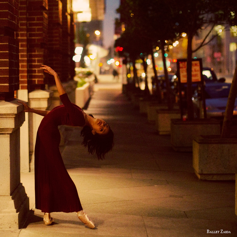 Dancer - Jeraldine Mendoza.<br /> <br /> Location - San Francisco, California.<br /> <br /> © 2011 Oliver Endahl