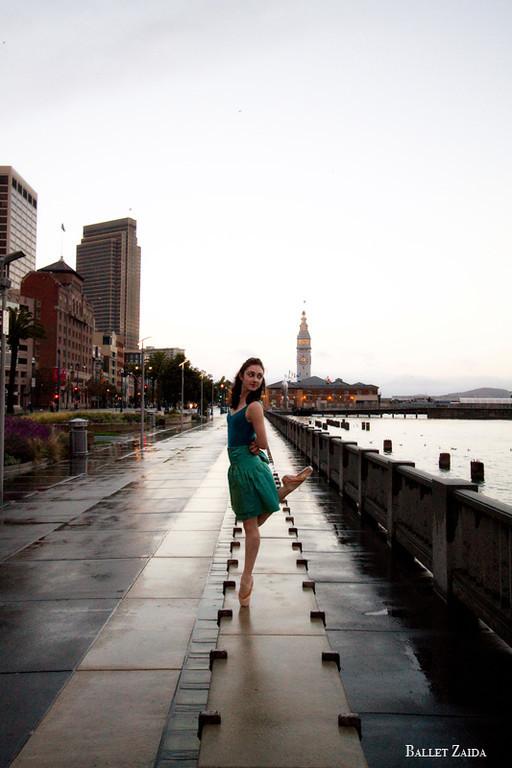 Dancer - Ellen Rose Hummel.<br /> <br /> Location - San Francisco, California.<br /> <br /> © 2011 Oliver Endahl