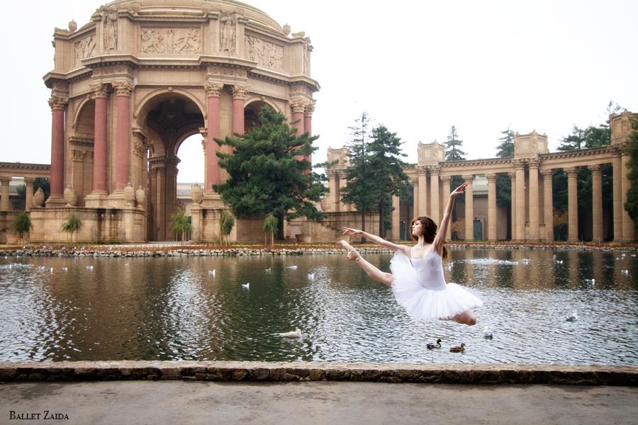 Dancer - Caitlin McAvoy.<br /> <br /> Location - The Palace of Fine Arts. San Francisco, California.<br /> <br /> © 2011 Oliver Endahl