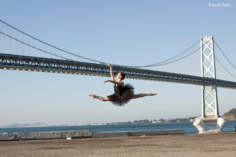 Dancer - Nicole Ciapponi.<br /> <br /> Location - San Francisco, California.<br /> <br /> © 2011 Oliver Endahl