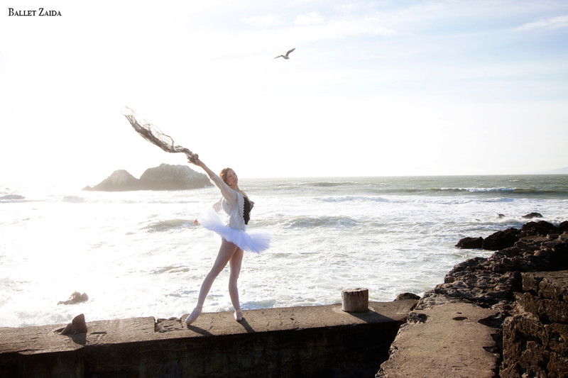 Dancer - Katherine Newton.<br /> <br /> Location - Sutro Bath Ruins. San Francisco, California.<br /> <br /> © 2011 Oliver Endahl